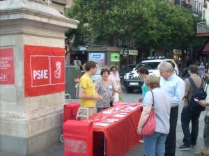 Iniciamos la última semana de campaña en el barrio de Palacio.